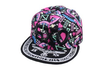 Canvas Baseball Hat EXO Fashionable Hip-Pop Hat Summer Sun Cap Red