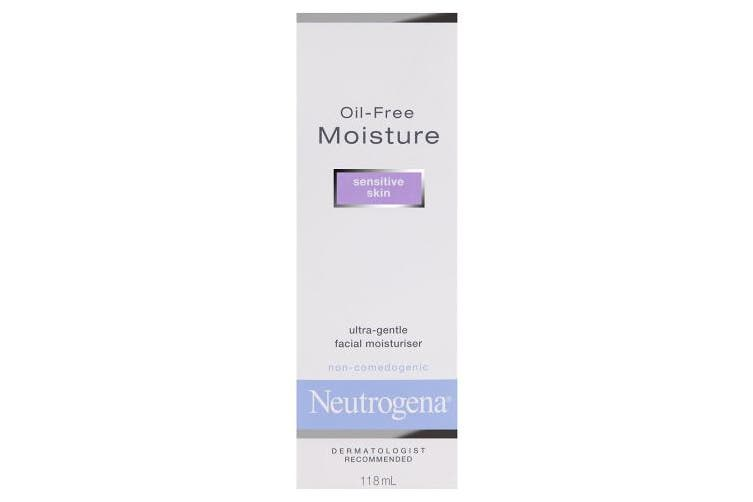 (Pack of 1) - Neutrogena Oil-Free Moisture Sensitive Skin, 120ml