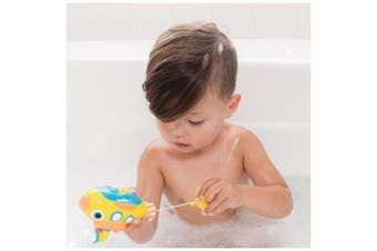 (Colors May Vary) - Nuby Little Submarine Pull String Bath Toy, Colours May Vary