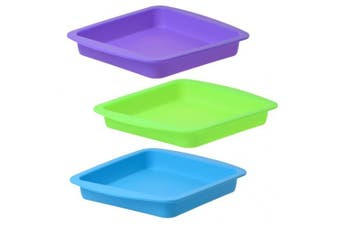 Silicone Alley, Silicone Container Wax Bulk, Set of 3, Assorted Colours