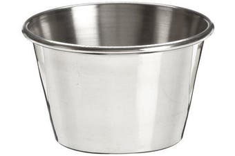 (3 Dozen) - Adcraft OYC-2/PKG Stainless Steel Sauce Cup, 60ml (3 Pack of 12)