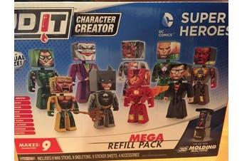 3D Character Creator DC Comics Mega Refill Pack Novelty Toy