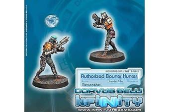 Mercenaries Authorised Bounty Hunter Miniature Corvus Belli