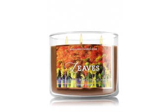 Bath and Body Works 430ml 3-wick Candle Leaves