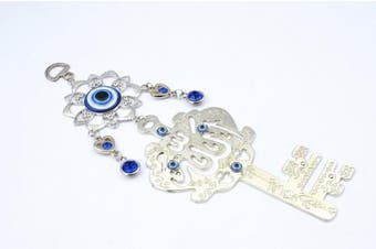 Blue Evil Eye Wall Hanging Ornament ( with a Betterdecor Gift Bag)-49