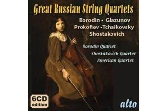 Great Russian String Quartets: Borodin, Glazunov, Prokofiev, Tchaikovsky, Shoatakovich