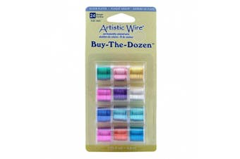 (Various) - Artistic Wire 24-Gauge Silver Plated Buy-The-Dozen Wire