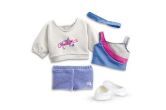 American Girl - 2 in 1 Gymnastics Practise Outfit for Dolls - Truly Me 2015