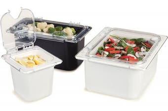(Sixth Size, White) - Carlisle (CM110402) Coldmaster Food Pan (1/6-Size, Plastic, White)