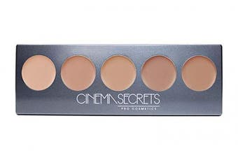 (500A Series) - Cinema Secrets Ultimate Foundation 5-In-1 Pro Palette, 500A Series