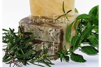 Indigo Bath & Body Peppermint Rosemary All Natural Handmade Soap