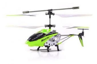 (green) - NEW Green Syma S107G 3 Channel RC Radio Remote Control Helicopter with Gyro