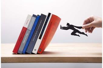 """Book & Hero"" Metal Bookend - Artori Design"