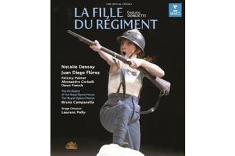 La Fille Du Regiment: Royal Opera House (Campanella) [Region B] [Blu-ray]