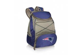 (Navy, New England Patriots) - Picnic Time New England Patriots PTX Cooler
