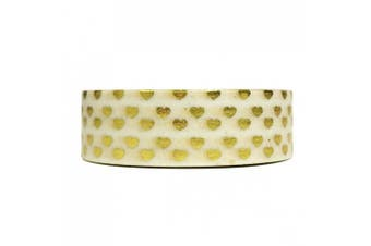 (Heart of Gold) - Allydrew Decorative Washi Masking Tape, Heart of Gold