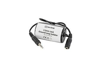 AUDIO GROUND LOOP ISOLATOR 3.5mm JACK connexion PLUG TO SOCKET