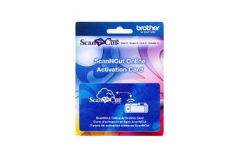 Brother ScanNCut Wireless Activation Card