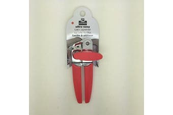 (Red) - Cook's Corner Manual Can Opener (Aqua, Black, Lime Green, Red) (Red)