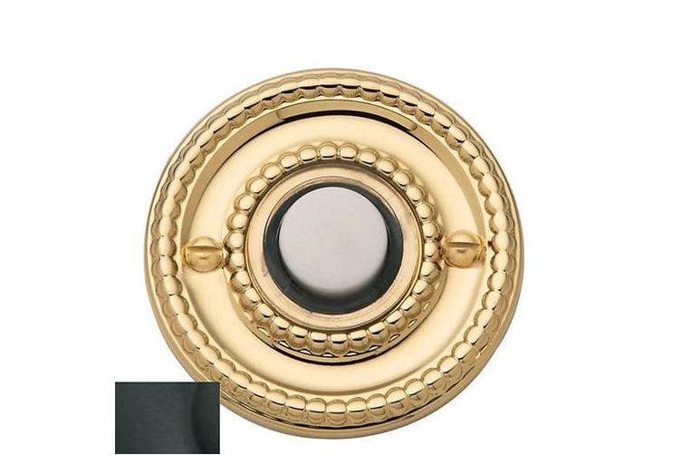 (Black) - Baldwin 4850190 Beaded Bell Button, Black
