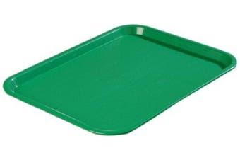 (30cm  x 41cm , Green) - Carlisle CT121609 Café Standard Cafeteria / Fast Food Tray, 30cm x 41cm , Green