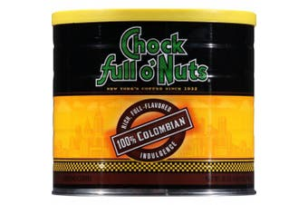 (100% Colombian, 710ml) - Chock Full o'Nuts 100% Colombian Ground Coffee, 710ml