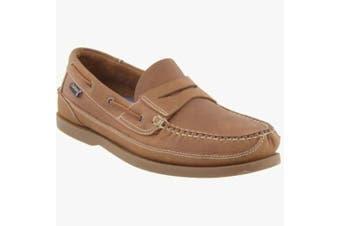 (14 UK, Brown) - Chatham Gaff G2 Men's Boat Shoes