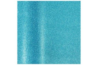 (Wrapping Paper, Aqua) - JAM Paper® Gift Wrapping Paper - Aqua Blue Glitter - 1.1sqm - Rolls Sold Individually