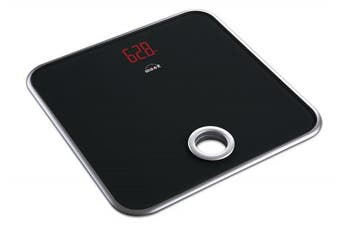 Scaleit Digital Bathroom Scale - Bright LED Display - Tempered Glass - 180kg Capacity
