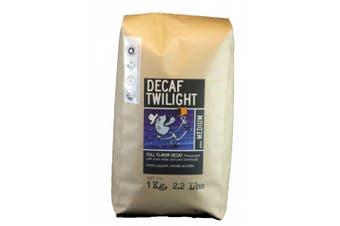 (Decaf Twilight Blend, 1kg) - Larry's Coffee Whole Bean Fair Trade Organic Coffee, Decaf Twilight Blend, 1kg