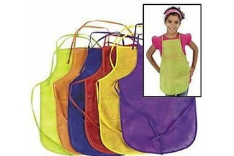 12 Children's Art & Craft Fabric Aprons