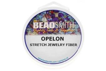 (Original Version) - Beadaholique Opelon Floss Stretch Bead Cord, 25m