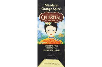 (Mandarin Orange Spice) - Celestial Seasonings, Herbal Tea (Mandarin Orange Spice)