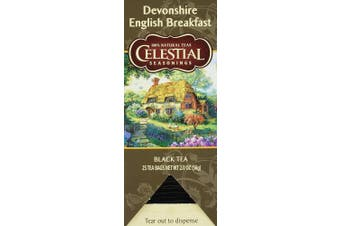 (English Breakfast) - Celestial Seasonings Food Service English Breakfast 25.0 CT