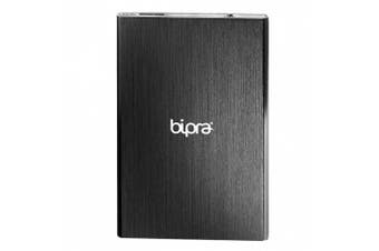 (250GB) - Bipra Ultra Slim USB 3.0 NTFS Portable Hard Drive - Black (250GB)