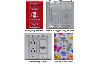 Clearview Child Resistant, Handicap Accessible Switch Guard