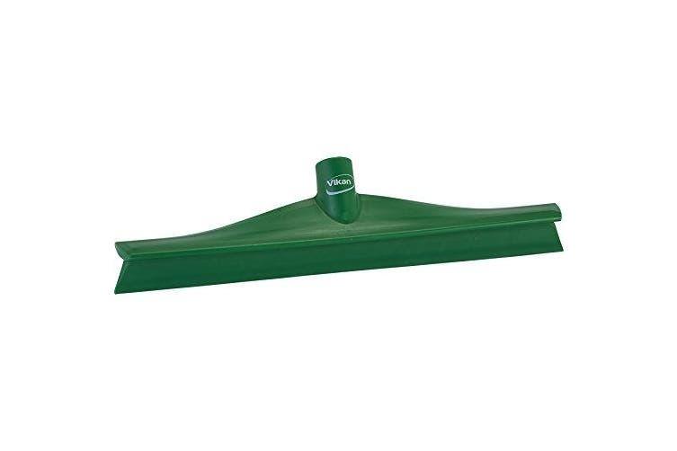 (7140, Green) - Vikan 71402 Rubber Polypropylene Frame Single Blade Squeegee, 41cm , Green