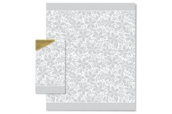 Paper Guest Hand Towels: Elegant Plumeria