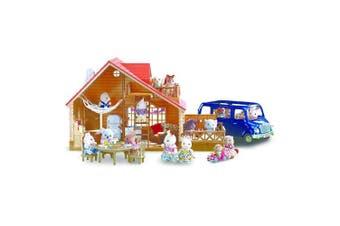 (Lakeside Lodge Gift Set) - Calico Critters Lakeside Lodge Gift Set
