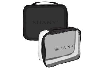 (It's Show Time) - SHANY Clear Travel Makeup Bag - Cosmetics Organiser – It's Show Time