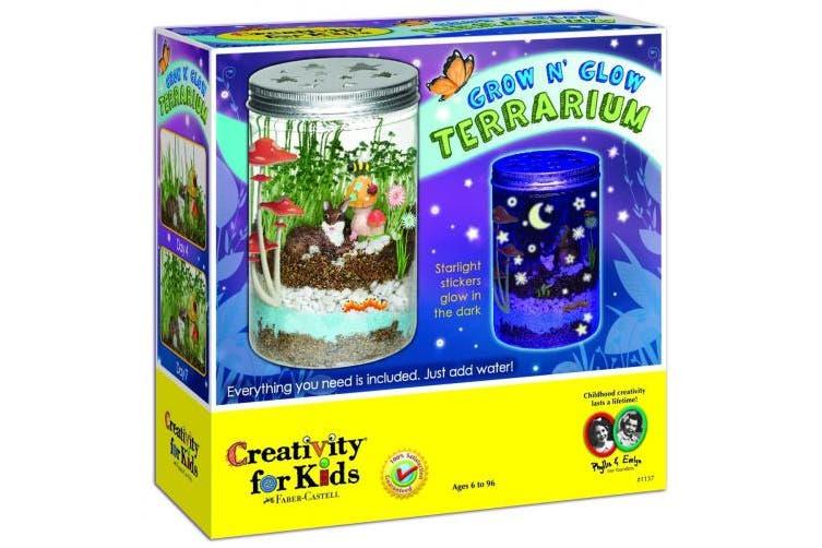 (Grow 'N Glow Terrarium) - Creativity for Kids Grow 'N Glow Terrarium