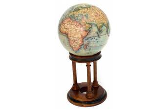 French Desk Top Authentic Globe of the World up to 1745