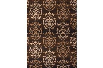 (0.3m3.4m x 0.9m, Brown) - United Weavers of America Dallas Countess Rug, 0.6m x 0.9m, Brown