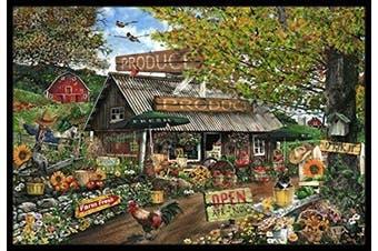 Caroline's Treasures PTW2017MAT The Produce Fruit Stand Indoor or Outdoor Mat, 46cm x 70cm , Multicolor