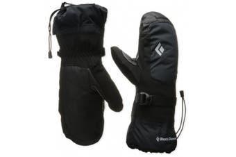 (Medium, Black) - Black Diamond Mercury Mitts Gloves Unisex