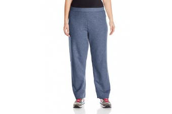 (5X Plus, Navy Heather) - Just My Size Women's Plus-Size Fleece Pant