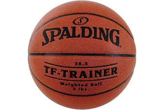 (Intermediate size with a 1.4kg weight (Size 6, 70cm )) - Spalding TF-Trainer 70cm Weighted Trainer Ball - 1.4kg.