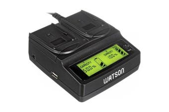 Watson Duo LCD Charger for L & M Series Batteries