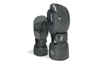 (9H, Black) - Level Fly Men's Outdoor Mittens