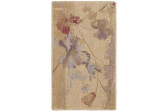(0.6m by 0.6mes, Beige) - Rug Squared Fenwick Contemporary Transitional Area Rug (FEN18), 0.6m by 0.6mes, Beige